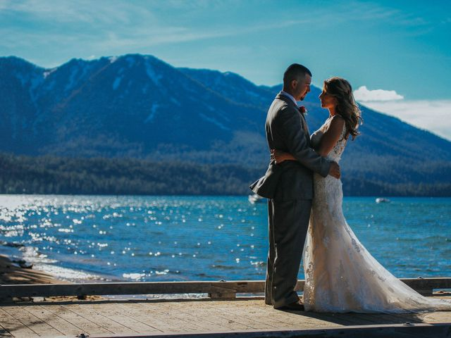 Jose and Aundrea's Wedding in South Lake Tahoe, California 36