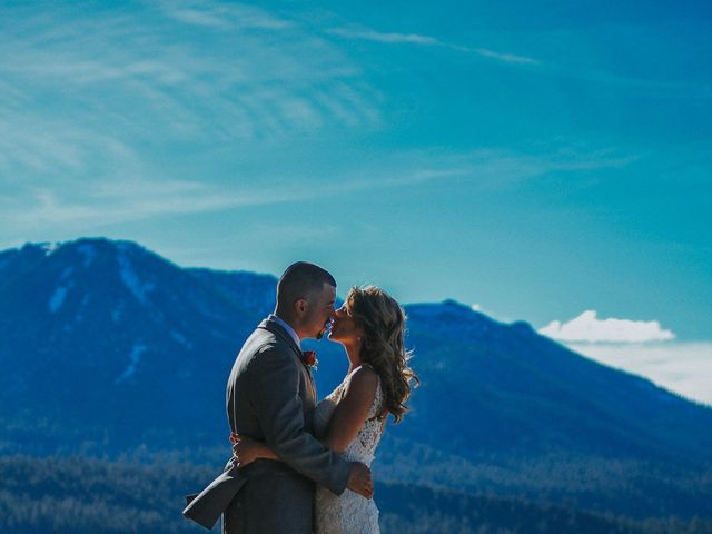 Jose and Aundrea's Wedding in South Lake Tahoe, California 37