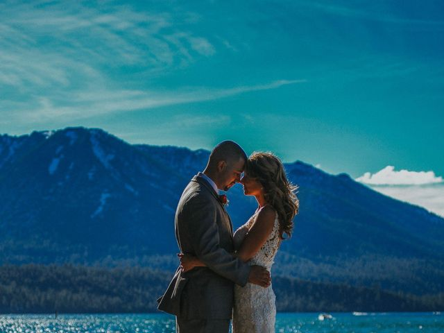 Jose and Aundrea's Wedding in South Lake Tahoe, California 38