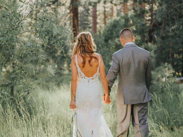 Jose and Aundrea's Wedding in South Lake Tahoe, California 45