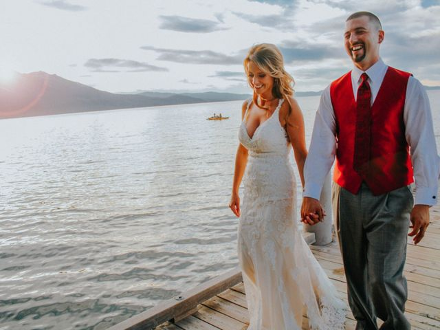 Jose and Aundrea's Wedding in South Lake Tahoe, California 59