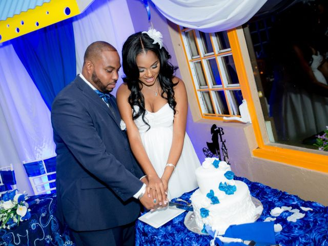 The wedding of Bria and Andie-Len