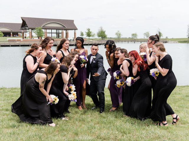 Jeremy and Kabedi's Wedding in Mt Zion, Illinois 3