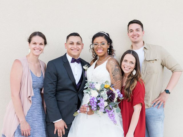 Jeremy and Kabedi's Wedding in Mt Zion, Illinois 4