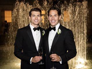 The wedding of Joc and Zac