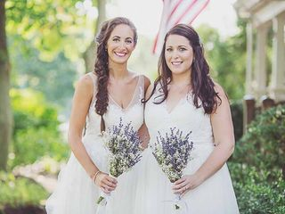 The wedding of Rachel and Amanda 1