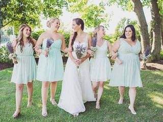 Amanda and Rachel's Wedding in Calverton, New York 9