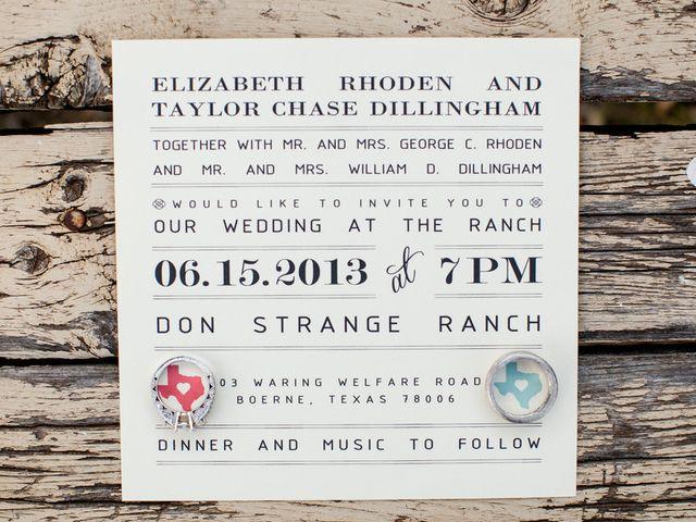 Elizabeth and Taylor's Wedding in Boerne, Texas 3