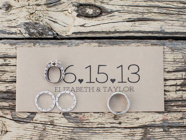 Elizabeth and Taylor's Wedding in Boerne, Texas 1