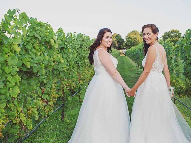 Amanda and Rachel's Wedding in Calverton, New York 15