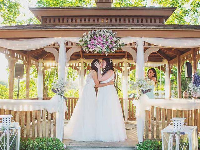 Amanda and Rachel's Wedding in Calverton, New York 14