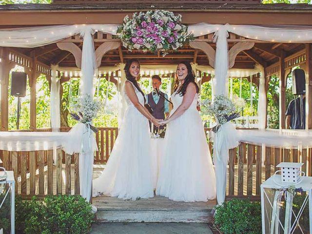 Amanda and Rachel's Wedding in Calverton, New York 12