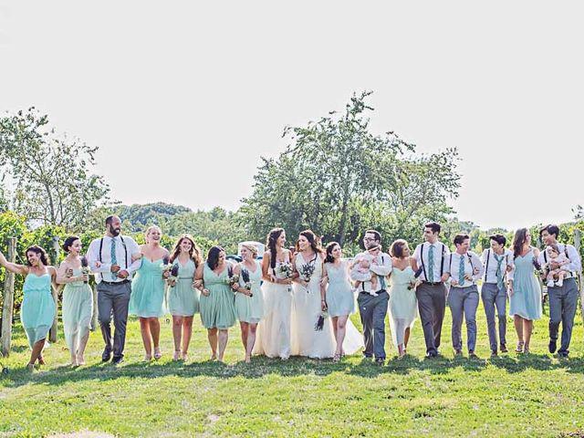 Amanda and Rachel's Wedding in Calverton, New York 10