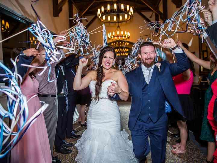 The wedding of Marin and Brendan