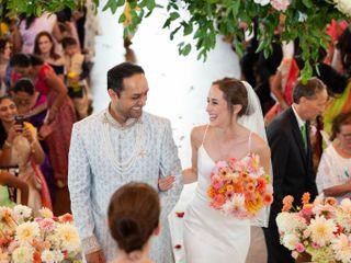 The wedding of Natalie and Samrat 1
