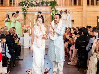 The wedding of Natalie and Samrat 2