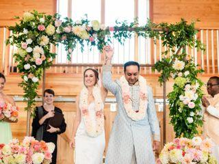 The wedding of Natalie and Samrat 3