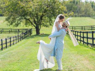 The wedding of Natalie and Samrat