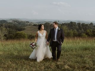 The wedding of Madison and Dustin