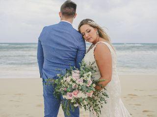 The wedding of Morgan and Wyman