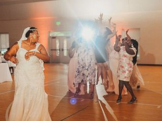 The wedding of Dayna and Walter 1