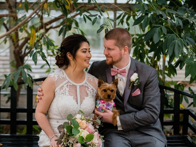 The wedding of Mia and Patrick