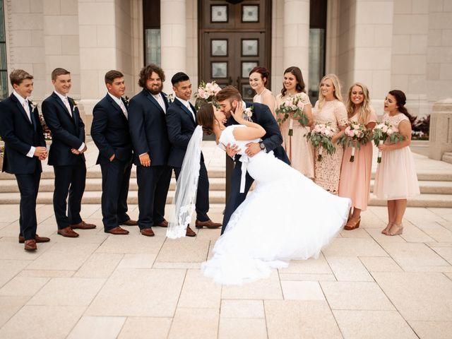Mason and Allie's Wedding in Zionsville, Indiana 17