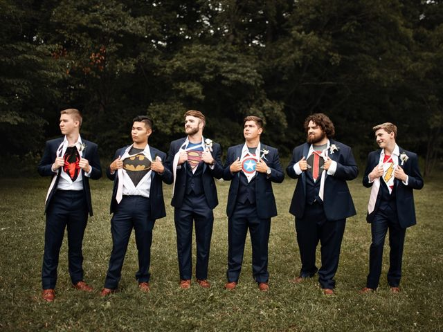 Mason and Allie's Wedding in Zionsville, Indiana 19