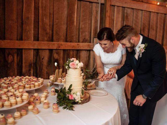 Mason and Allie's Wedding in Zionsville, Indiana 35