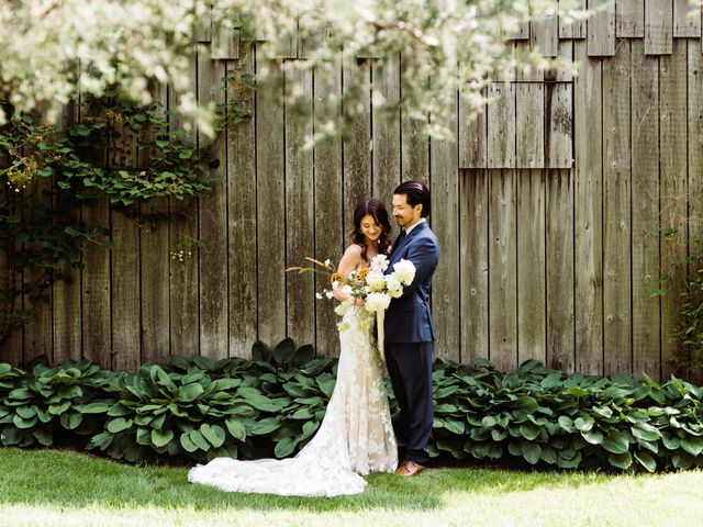 The wedding of Kathryn and Nick