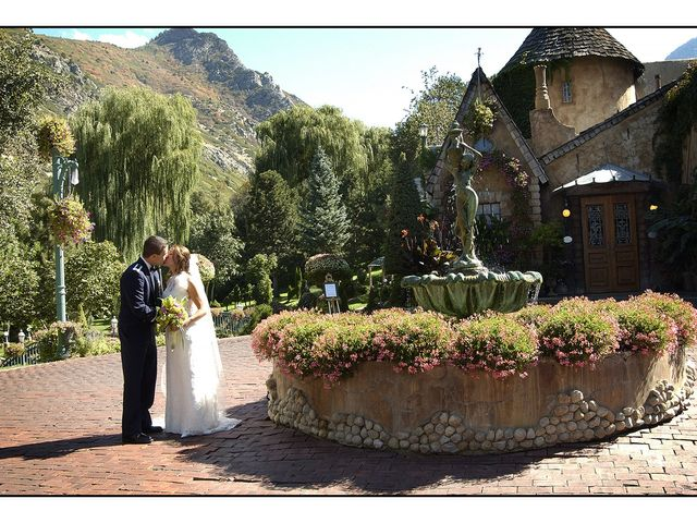 The wedding of Adam and Vincenza