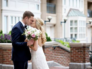 The wedding of Courtney and Brian