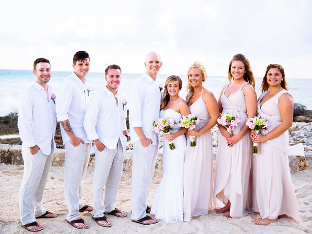 Danielle and Weston's wedding in Mexico 17