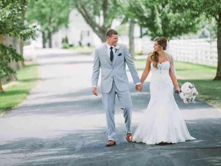 The wedding of Nichelle and Deron