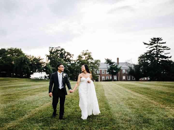 The wedding of Jaimie and Darryl