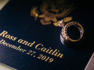 The wedding of Caitlin and Ross 1