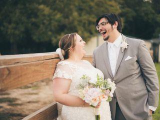 The wedding of Savana and Alex