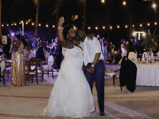 The wedding of Donnika and Antonio 1