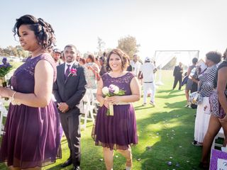 The wedding of Carissalina and Rodney 1