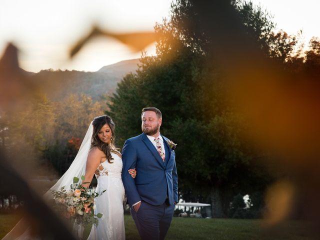Will and Sarah's Wedding in Glenville, North Carolina 1