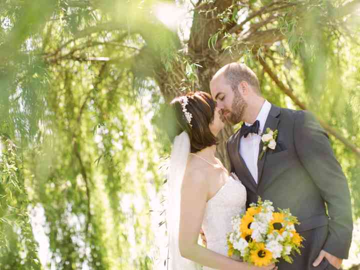The wedding of Amelia and Marc