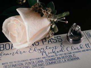 The wedding of Alexandra and Michael 1