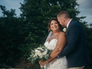 The wedding of Alexandra and Michael