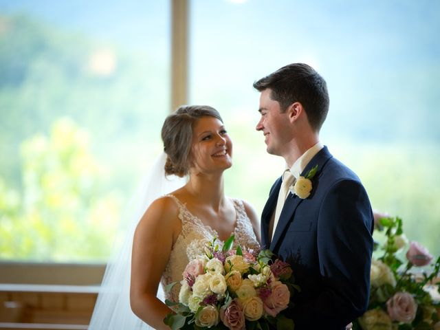 The wedding of Leah and Eric