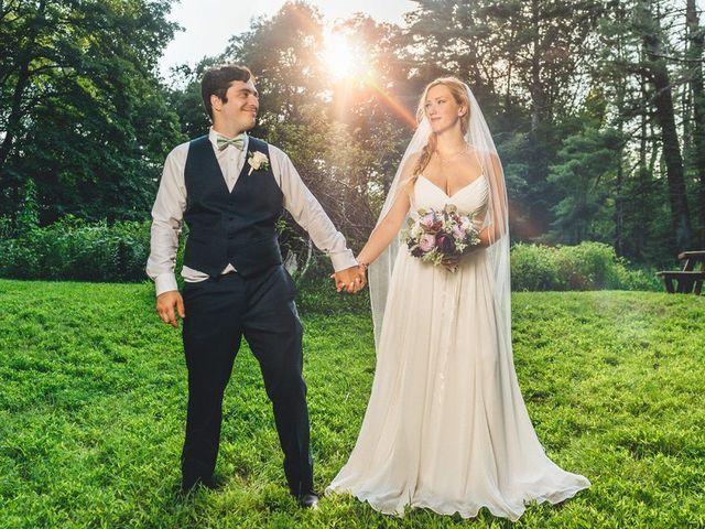 The wedding of Gail and Joe