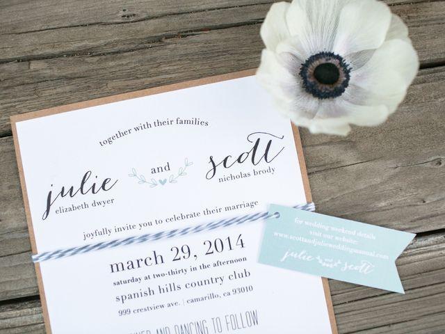 Julie and Scott's Wedding in Camarillo, California 1