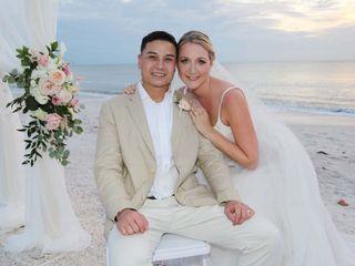 The wedding of Rachel and Noel