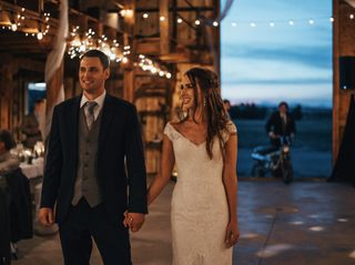 The wedding of Casey and Tighe