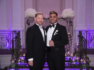 The wedding of JAMES and VICTOR