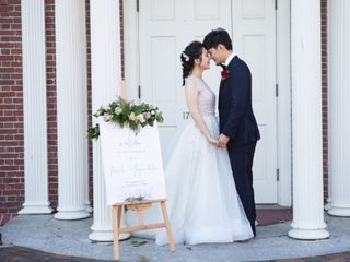 The wedding of Yixin and Bruce